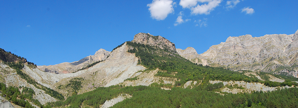 Tzoumerka mountain range